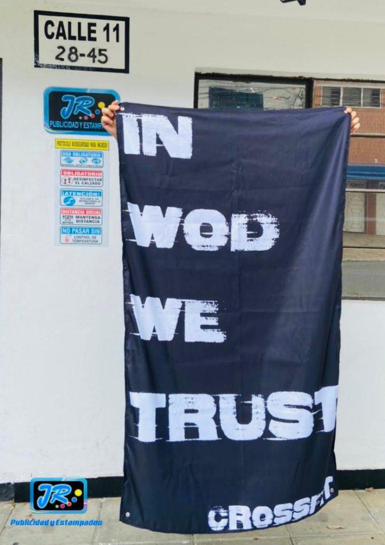 banderas institucionales in wod we trust