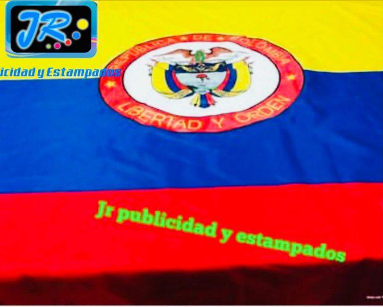 banderas institucionales y nacionales colombia